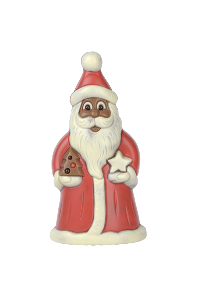 Brunner chocolate moulds santa claus with star online shop