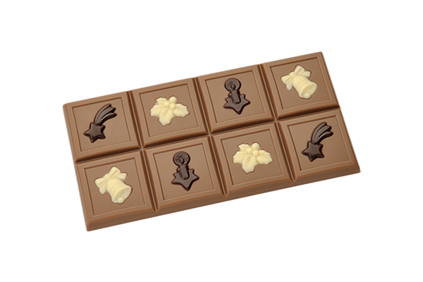 Brunner Schokoladenformen   Tafel  u0026quot;Weihnachten u0026quot;   Online Shop