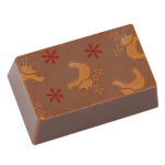 Rectangular praline