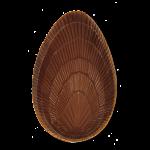 Ei-Hälfte, Muschelmuster