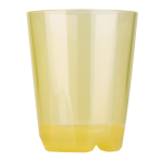Drinking cup (yellow transparent), approx. 0,2 ltr