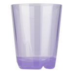 Drinking cup (purple transparent), approx. 0,2 ltr