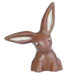 Rabbit with hanging ear