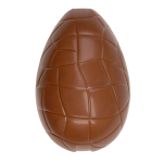 Egg (mould half), crocodile style lower part with indentation for ribbon