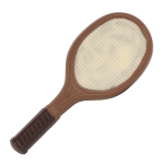 Tennisschläger, Relief