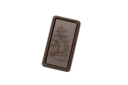 Small tablet with ship