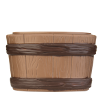 Wooden tub (Available in February 2018)