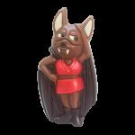 """Fledermaus """"Bat-Tina"""" (erhältlich ab Juni 2018)"""