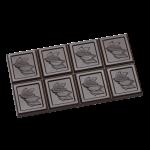 Tablet avec cabosse de cacao