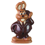 Bunny with egg telephone