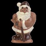 Weihnachtsmann schreitend