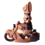 Rabbit on Motorbike