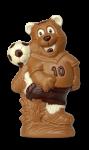 Bär mit Fußball
