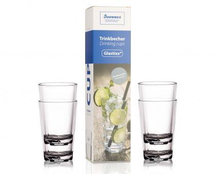 Trinkbecher-Set (glasklar), ca. 0,3l, 4er Set