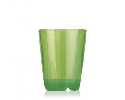 Trinkbecher (grün transparent), ca. 0,2 l