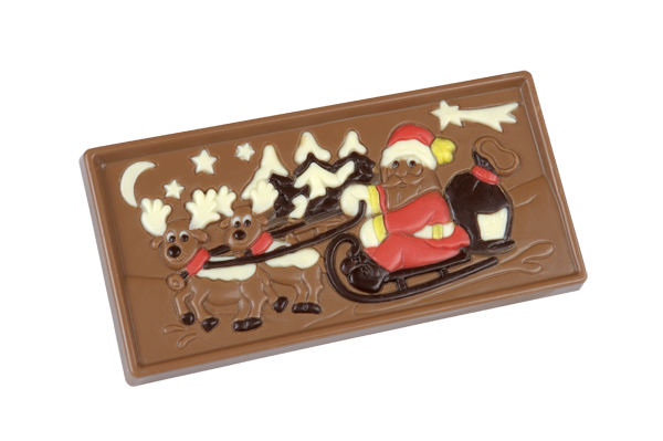 Tablet with christmas design