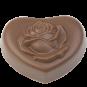 Herz-Praline mit Rose