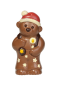 Christmas bear with candle