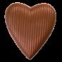 Herz, gerillt