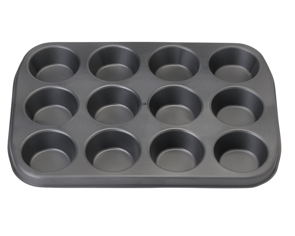 Brunner Chocolate Moulds Muffin Pan 12 Part 3x4