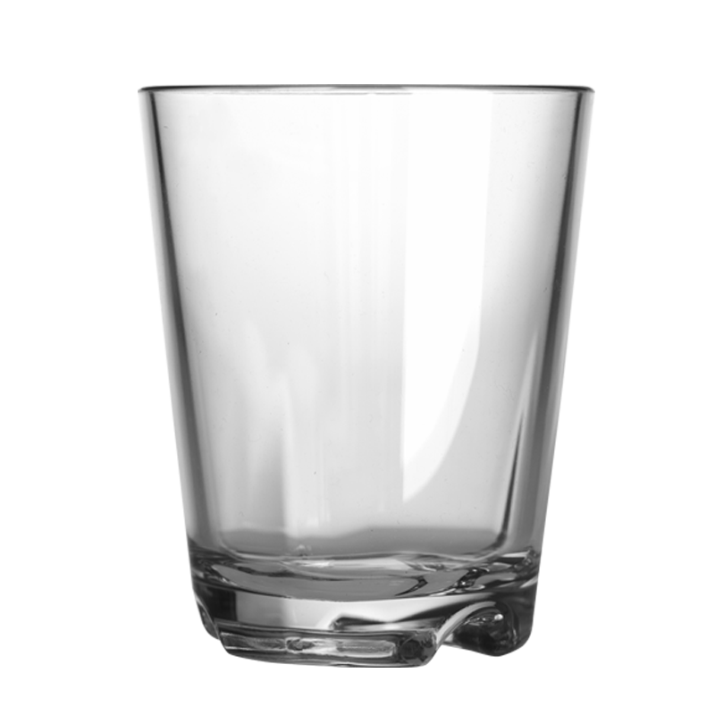 Brunner Chocolate Moulds Drinking Cup Clear Glass