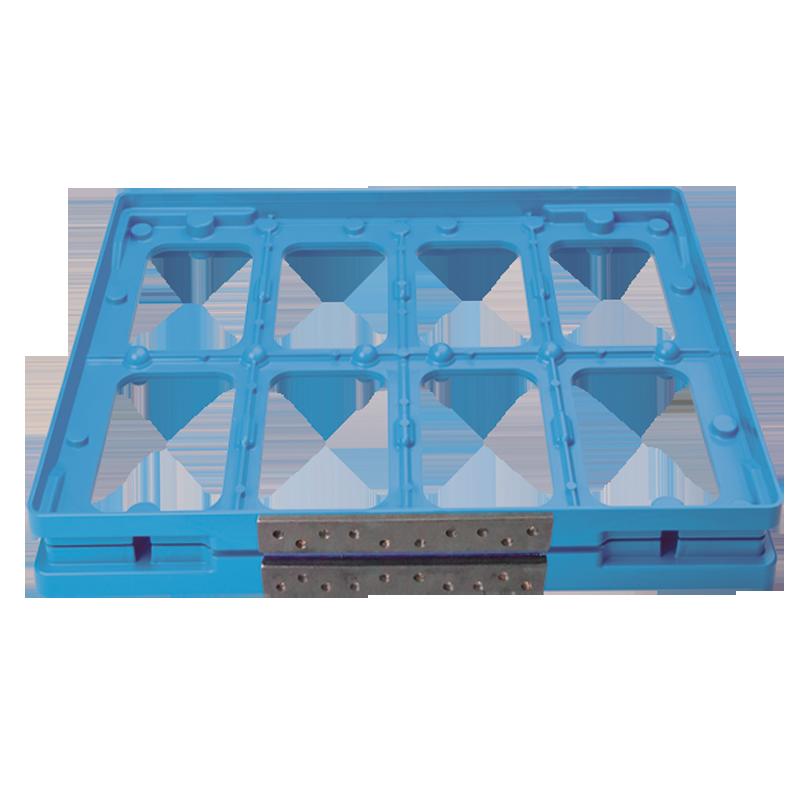 Brunner Chocolate Moulds   Blueflex® frame 2x4   Online Shop