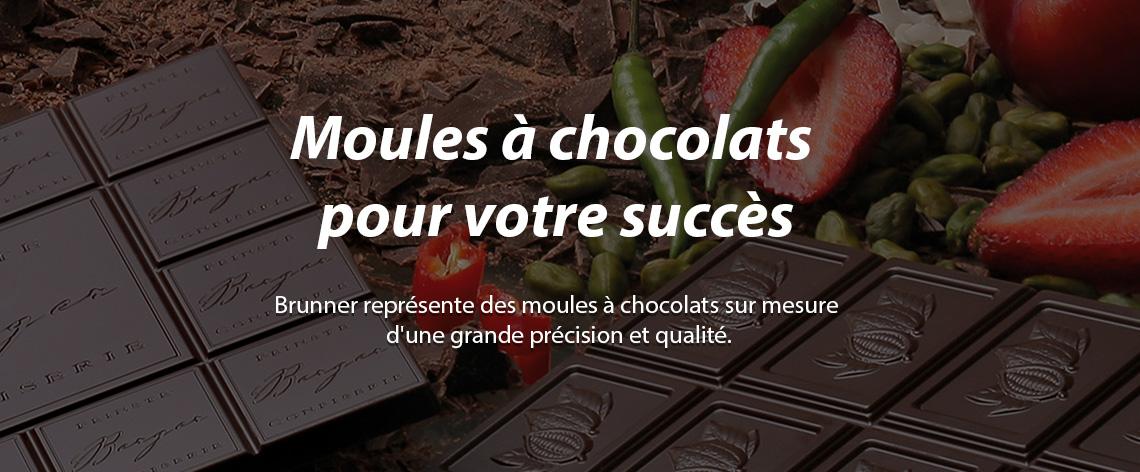 Brunner Moules à Chocolat - Banner 1