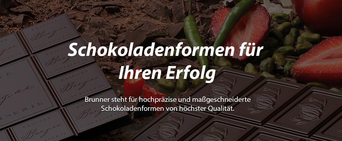 Brunner Schokoladenformen - Banner 1